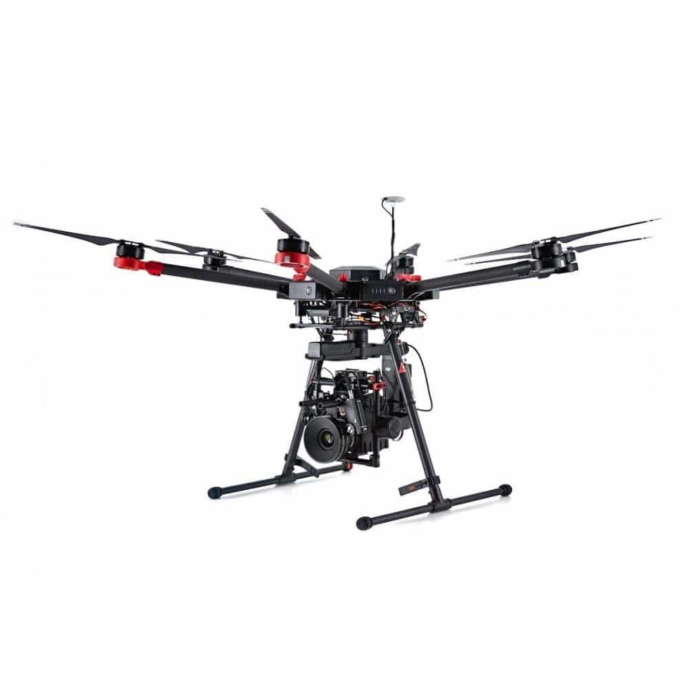 dji-matrice-600 Drohne für Luftaufnahmen